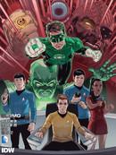 星际迷航 绿灯侠:光谱战争漫画